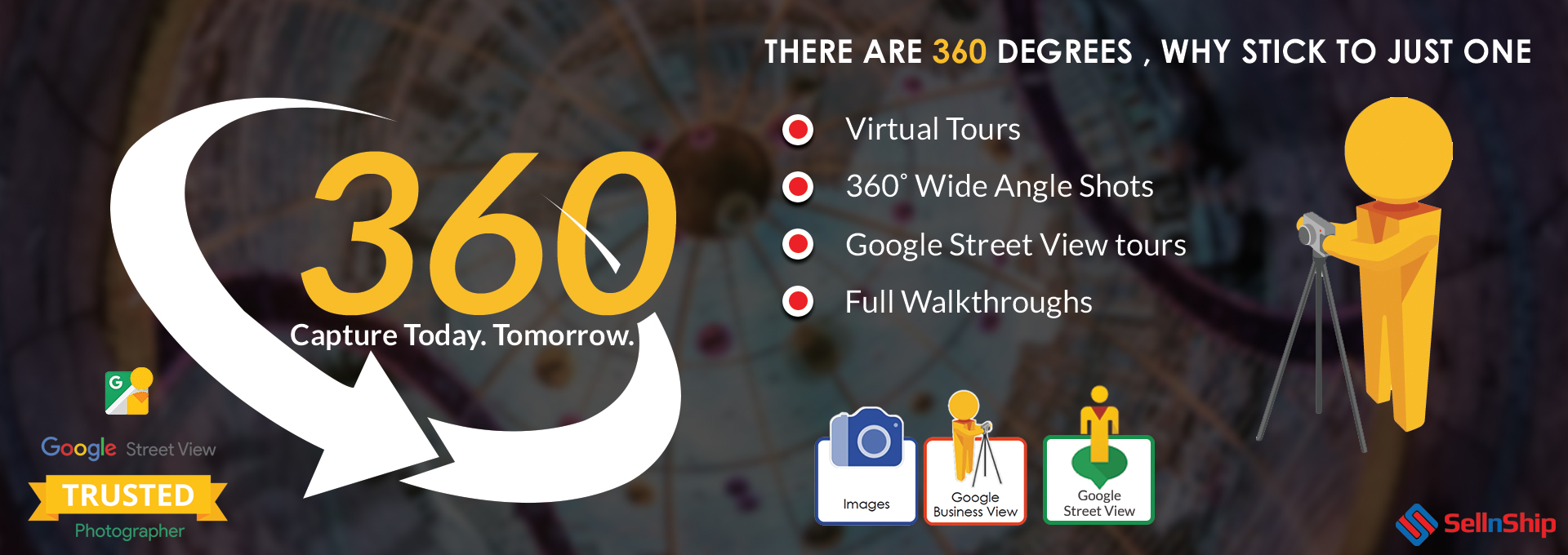 360 virtual tours Google street view Google Business view providers