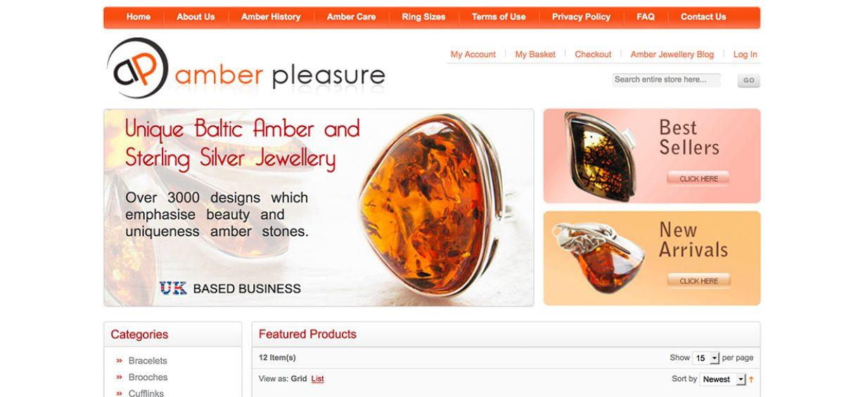 custom Magento web development services for amber pleasure