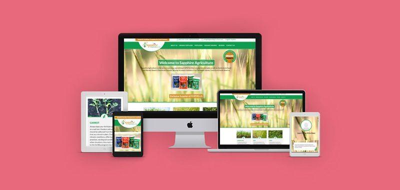 sapphireagriculture-web development